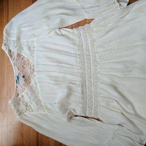 Dresses - White knee length dress